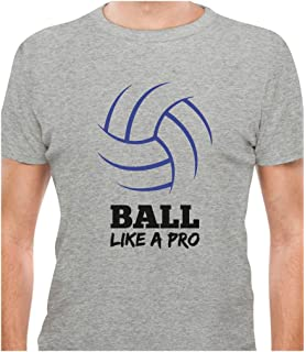 0fe831d3d TeeStars - Volleyball - Ball Like a Pro Gift For Volleyball Fans T-Shirt