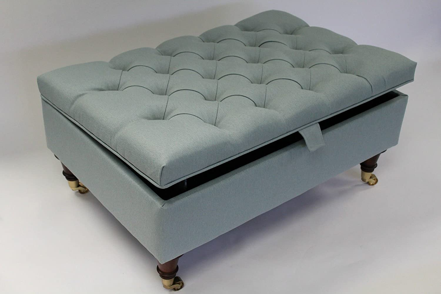 - Simply Chaise Chesterfield Thickly Upholstered Coffee Table