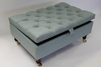 Ottoman Coffee Table Uk.Simply Chaise Chesterfield Thickly Upholstered Coffee Table Storage Ottoman Footstool Seat