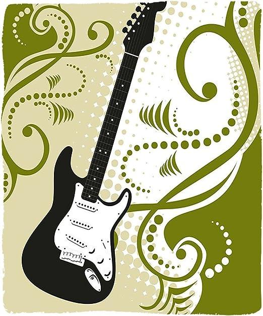 VROSELV Custom Manta música bajo eléctrico Guitarra Figura con ...