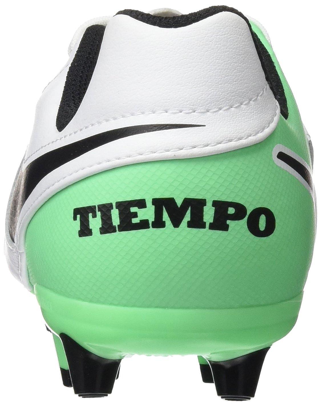 Nike Tiempo Legend Vi AG-Pro, Botas de fútbol Unisex para Niños, (White/Black/Electro Green), 33.5 EU: Amazon.es: Zapatos y complementos
