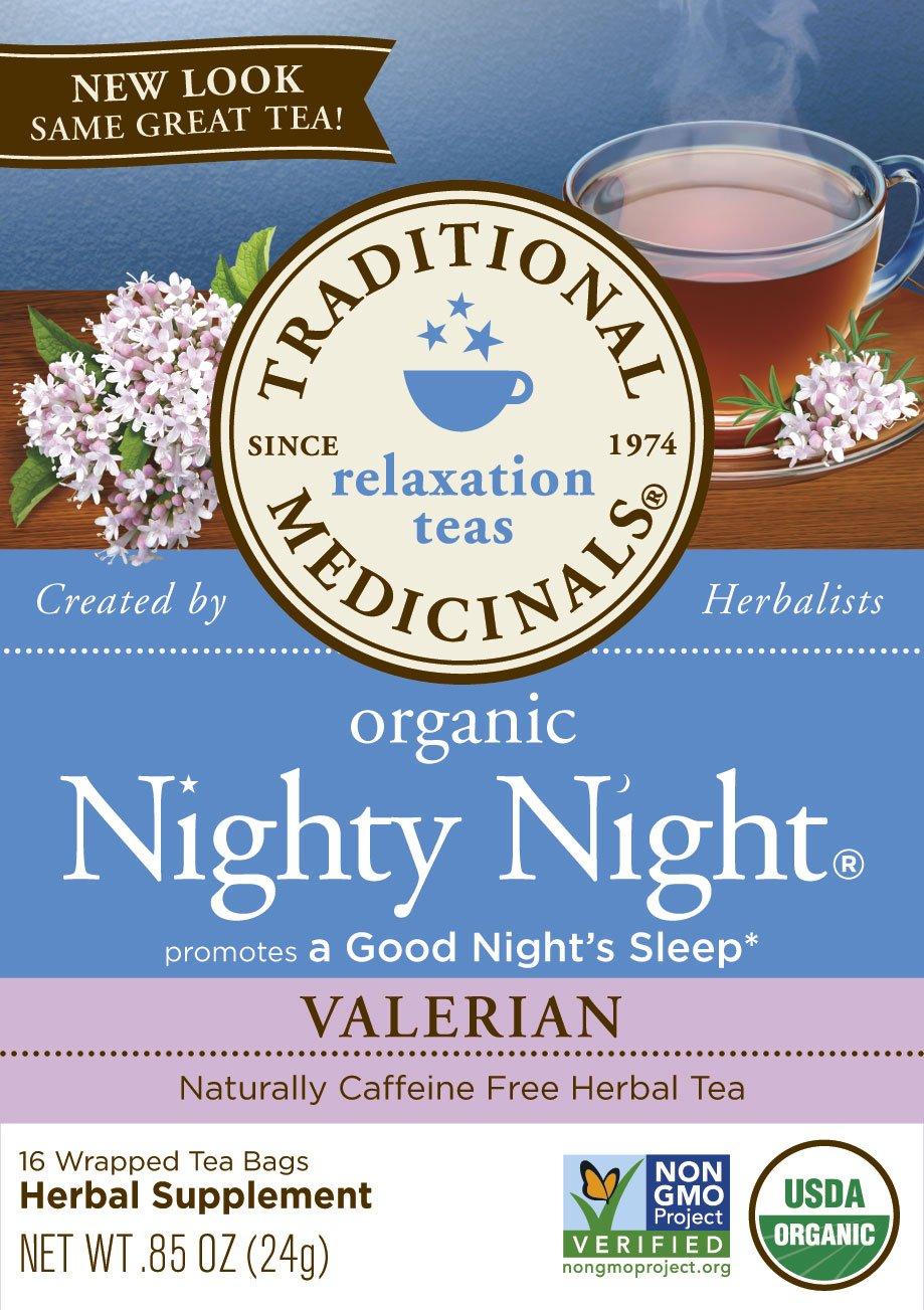 Amazon.com   Traditional Medicinals Organic Nighty Night Valerian Relaxtion  Tea 956e31c7d
