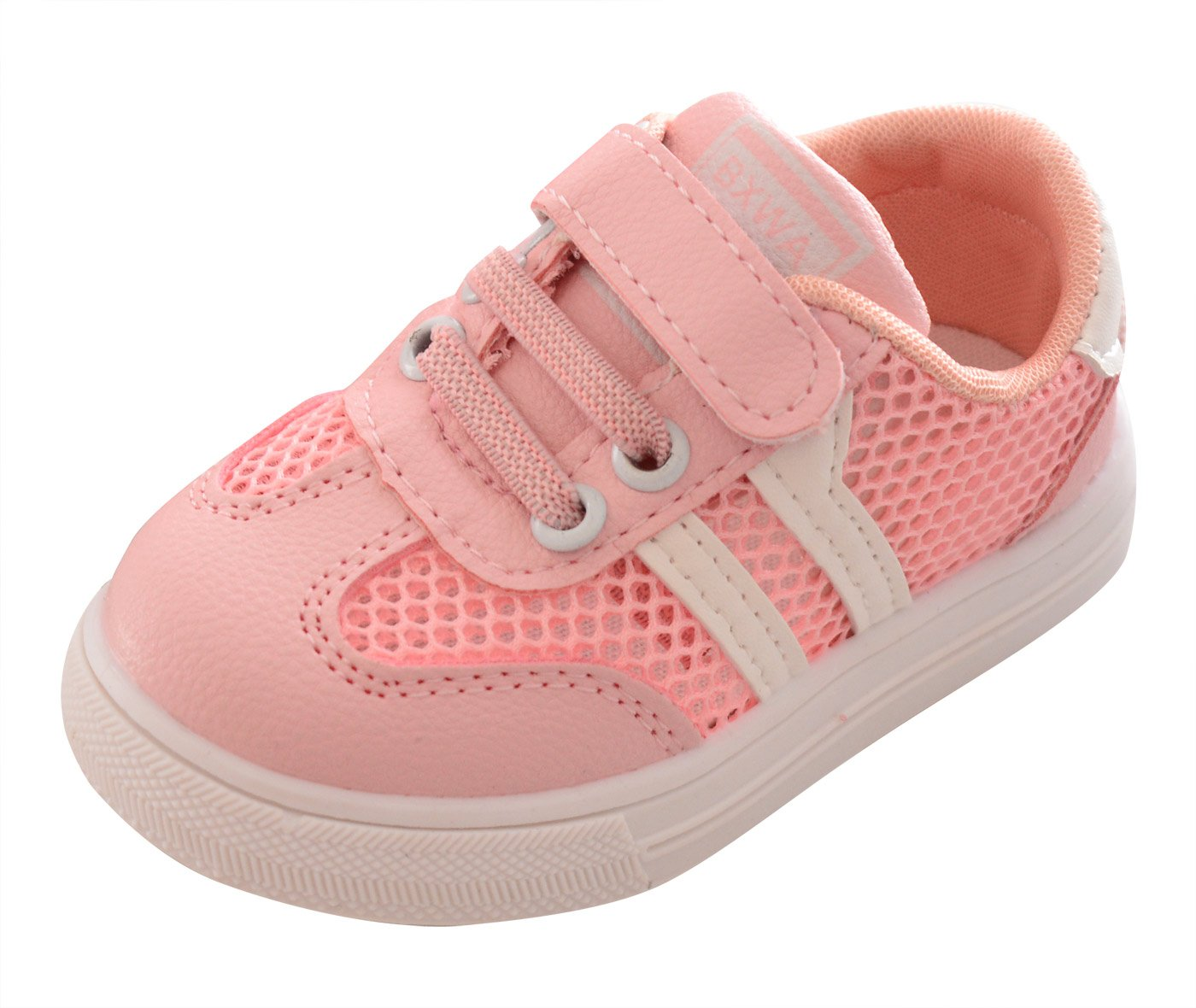 Happy Cherry Toddler Slip-on Casual Mesh Sneakers Aqua Water Breathable Shoes for Running Pool Beach Pink 7 M