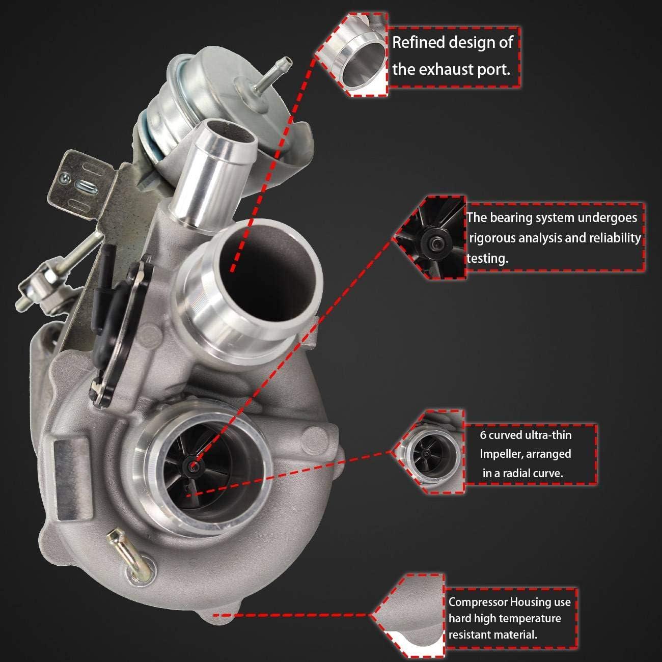 Bapmic CL3Z-6K682-C Left Turbo Turbocharger for Ford F-150 Ecoboost 2011 2012