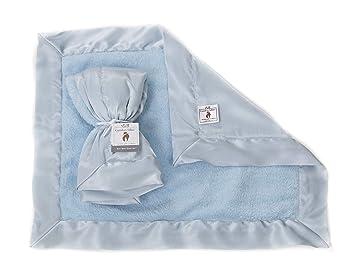 Amazon.com: Azul – Confort Silkie felpilla de raso y manta ...