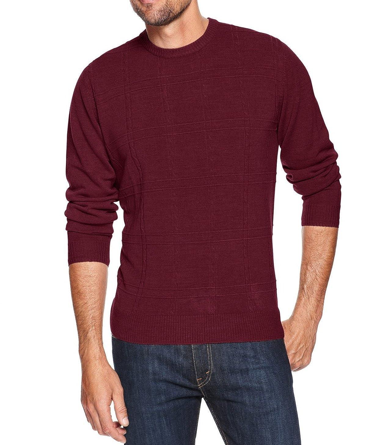 Tricots St Raphael Red Crewneck Sweater M