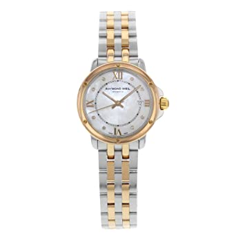 Amazon.com: Raymond Weil Tango cuarzo hembra reloj 5391-SB5 ...