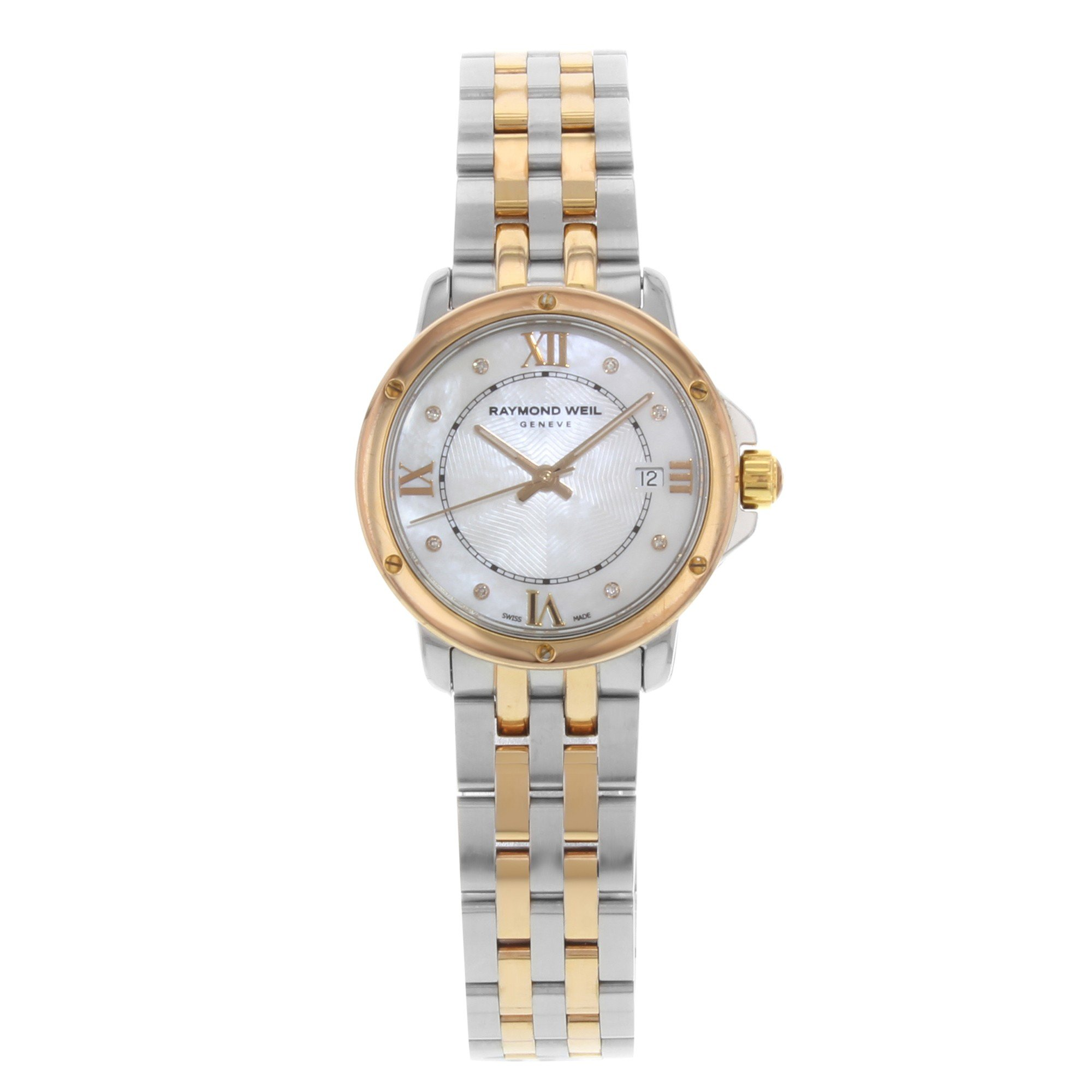Raymond Weil Tango Quartz Female Watch 5391-SB5-00995 (Certified Pre-Owned)