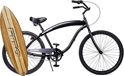 BEACH CRUISER CYCLING BICYCLE BIKE ALLOY BLACK HAND BRAKE FOR Front WHEEL