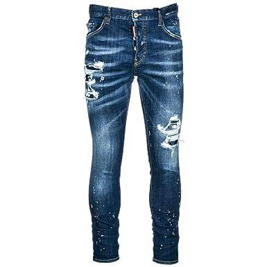 63a9f2bcba06cc Dsquared2 Jeans Jean Homme Skater blu EU 48 (UK 32) S74LB0422S30342470
