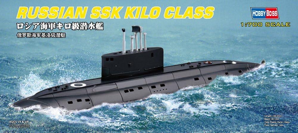 Hobby Boss 87002 Submarino de modelismo Escala 1:700