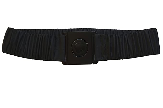Cintura da giacca impermeabile nera elasticizzata Chiusura in plastica  nera  Amazon.it  Abbigliamento 0ea5fff8f75
