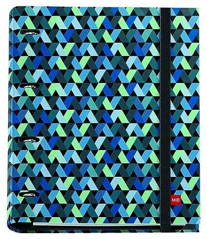 Miquelrius 20767 - Carpeta anillas con bloc origami: Amazon.es ...