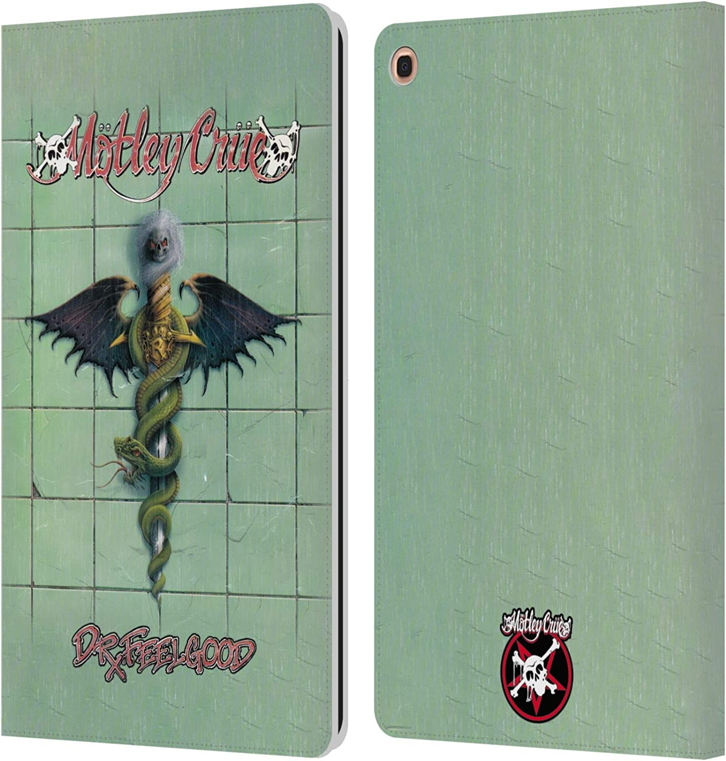 Official Motley Crue Dr Feelgood Albums Leather Book Amazon Co Uk Electronics
