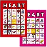 valentine bingo game 20 bingo cards
