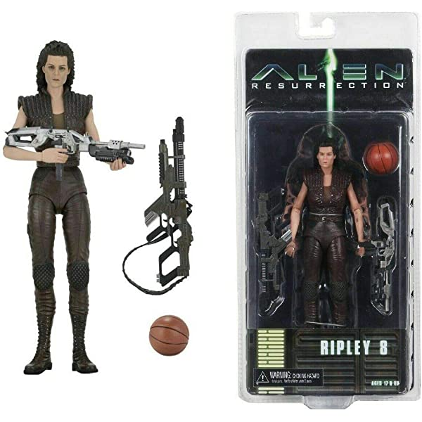 "Ripley 8 /& Xenomorph Warrior Alien Resurrection 7/"" Figure Set of 2 Neca 2019"