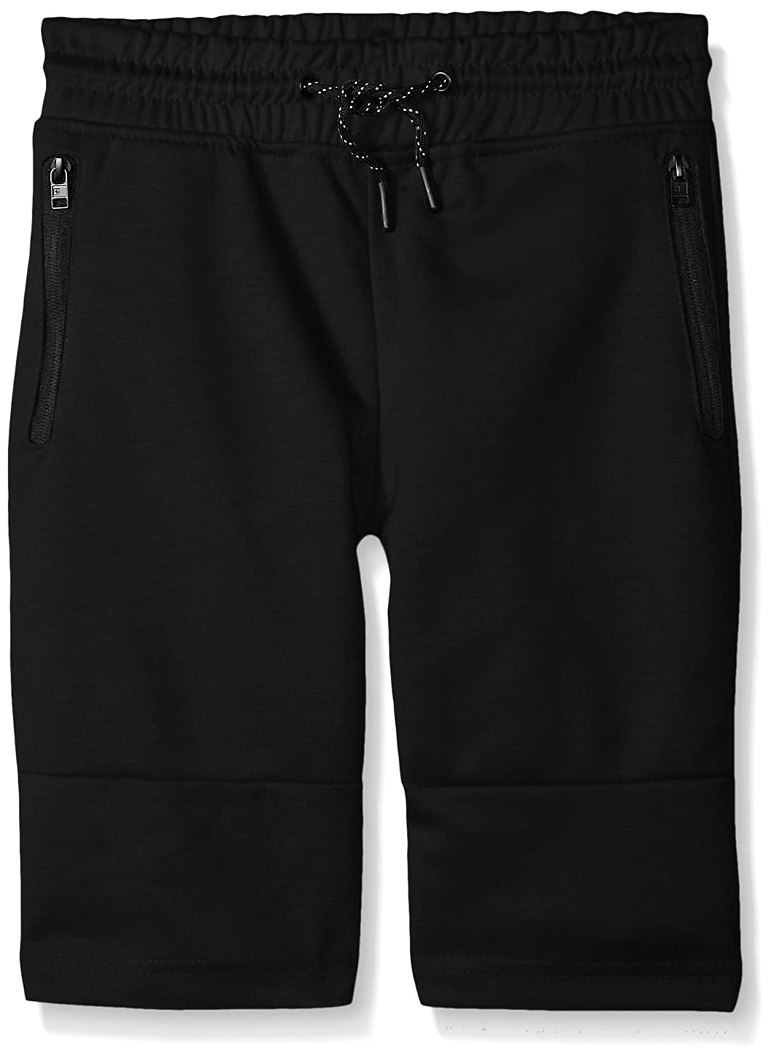 Southpole Big Boys Jogger Shorts in Basic Solid Colors and Fleece Fabric