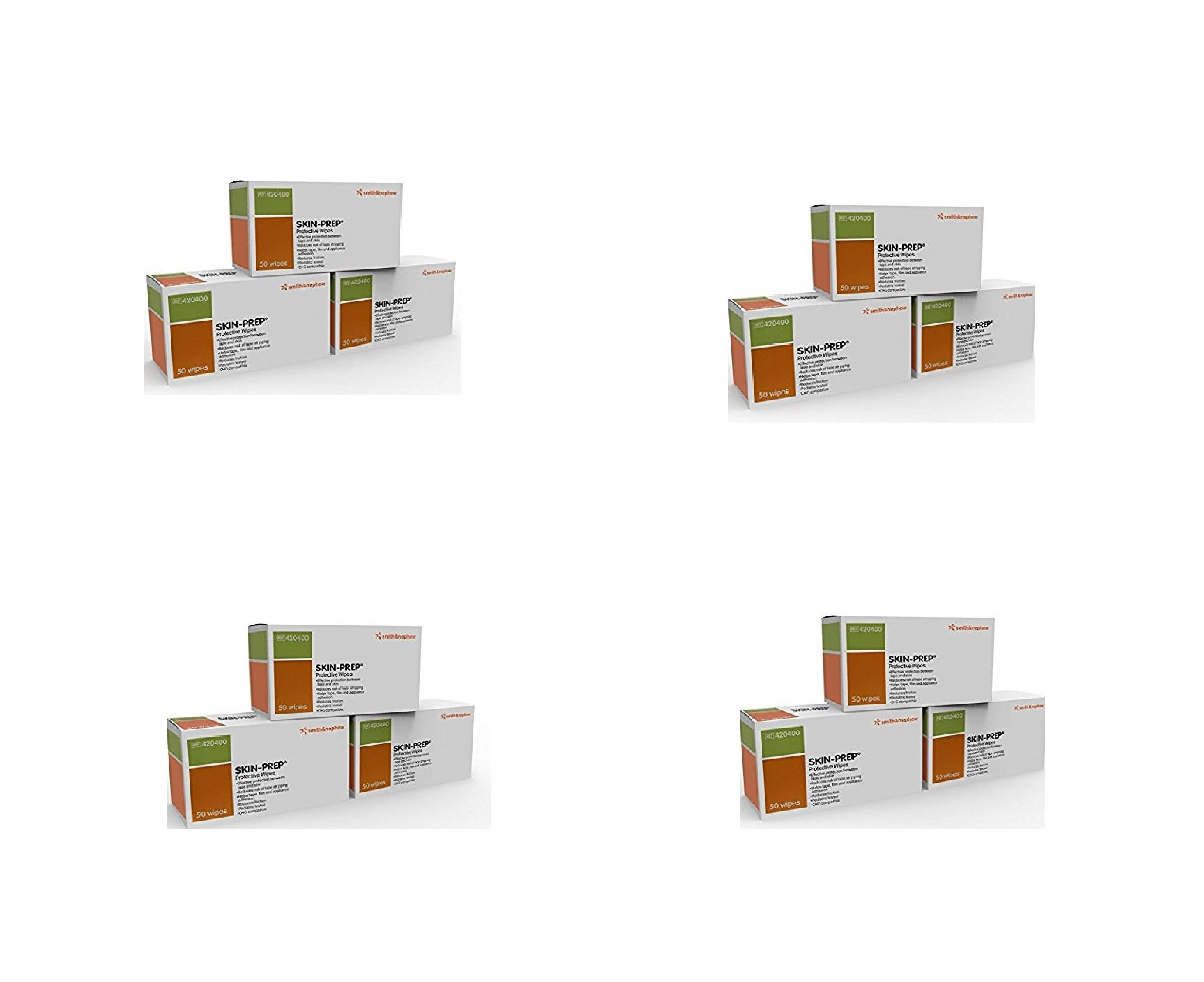 Smith & Nephew Skin PREP Protective Wipes, 150 Count (4 Pack)