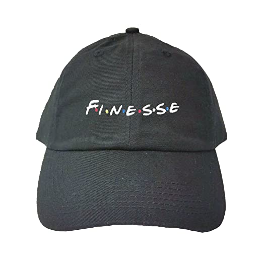 0ea960a3 Amazon.com: Go All Out Adjustable Black Adult Finesse Embroidered ...