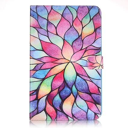 Amazon Galaxy Tab S4 105 Case Lotus Flower Smart Folding