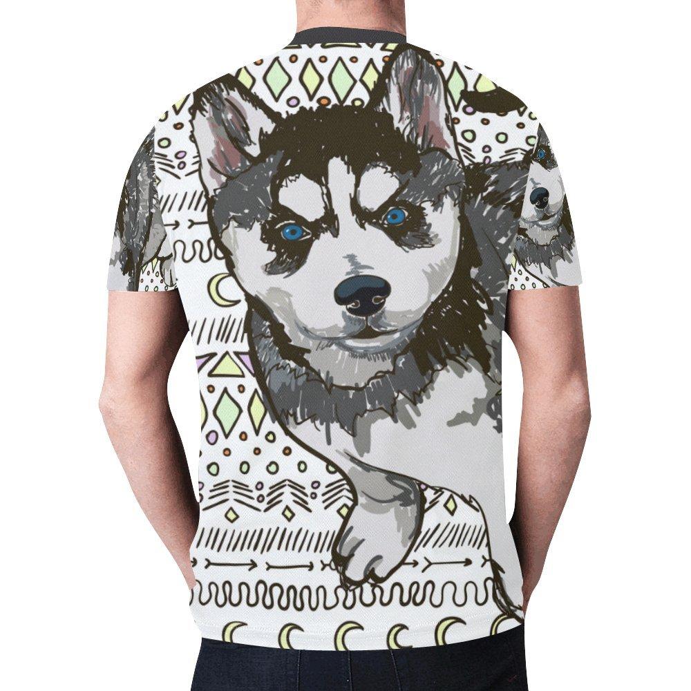 Amazon Interestprint Mens Shirts All Over Print Cool Design
