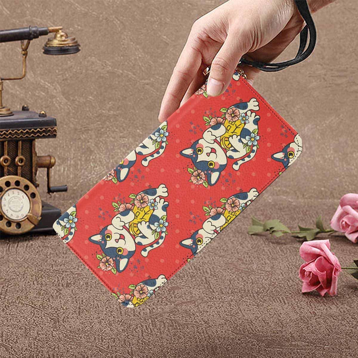 InterestPrint Womens Happy Sloth Clutch Purse Card Holder Organizer Ladies Purse