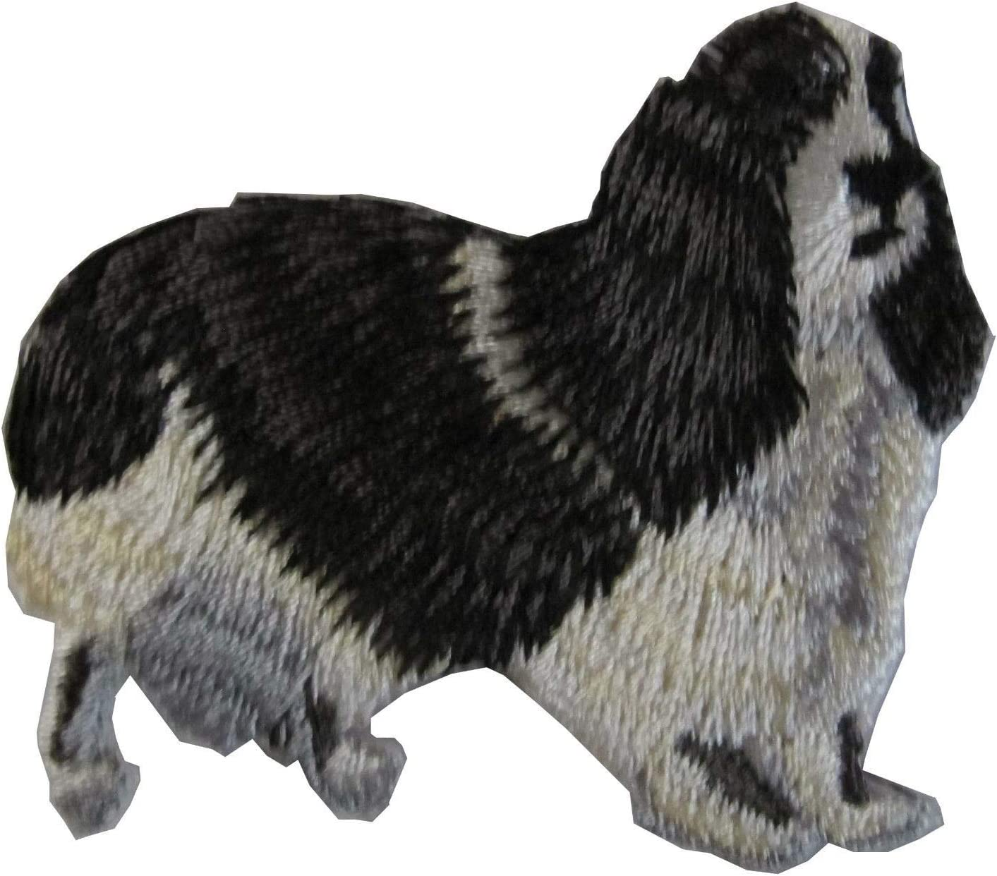 IRON-ON EMBROIDERED PATCH DOG COCKER SPANIEL