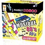 Topi Games - FAM - MU - 349001 - Family Quizz Musique - Le Jeu des fans Des 80's Et 90's