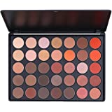 Amazon Price History for:Eyeshadow Palette, Makeup Palette Glitter Matte Eyeshadow 35 Colors Highly Pigmented by ETEREAUTY
