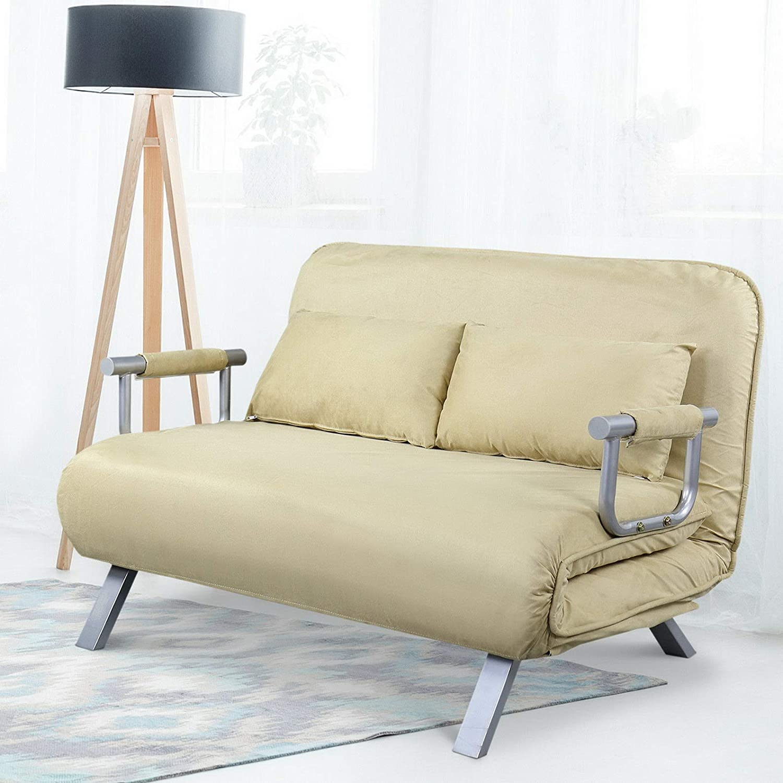 Amazon.com: Hebel Full Size Convertible Sofa Sleeper Bed ...