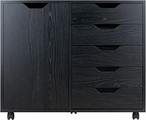 Winsome Wood Halifax Storage Organization, Black
