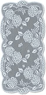 "product image for Heritage Lace Hydrangea 14""x29"" Sky Doily, 14"" x 29"""