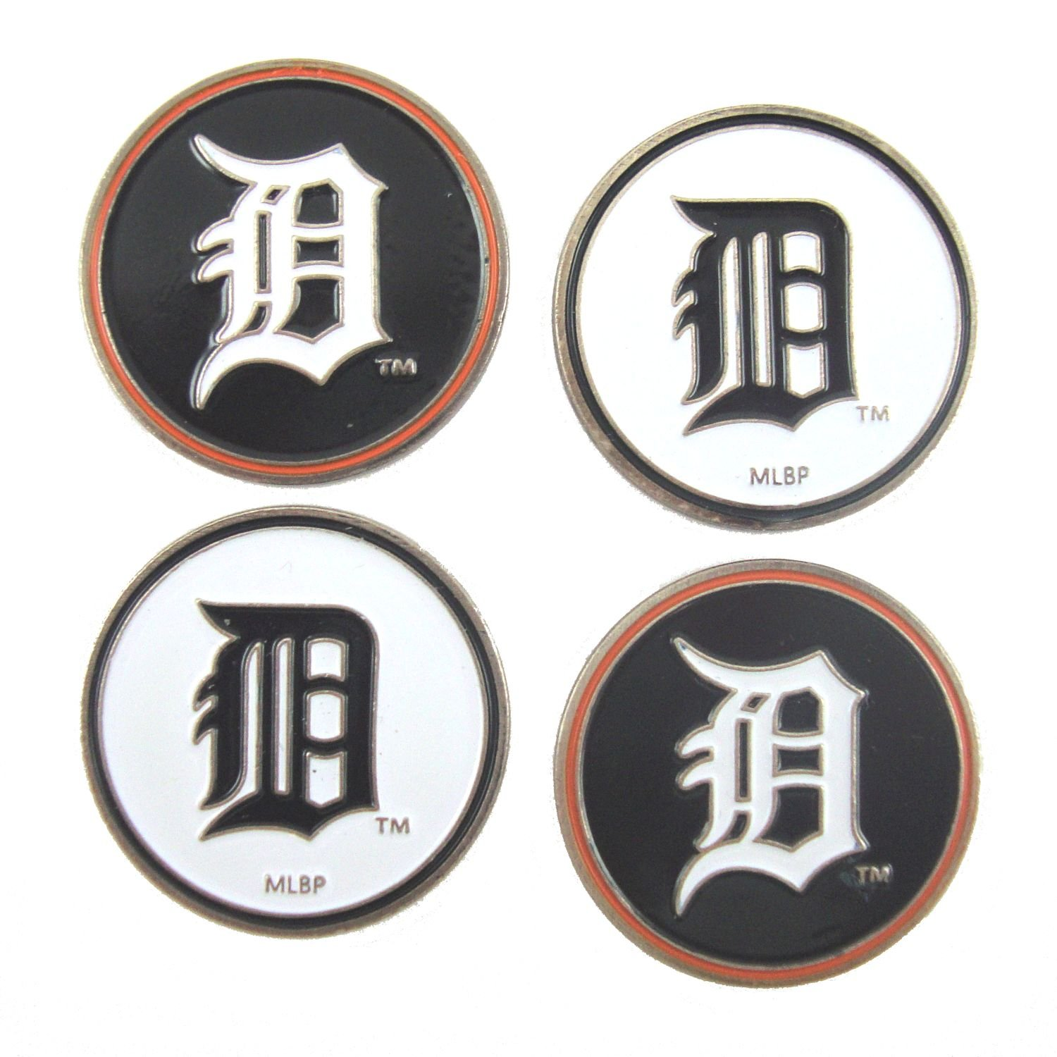 Detroit Tigers Golf Ball Markers ( 4 Pack )   B0788JVBT9