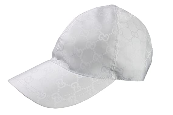 gucci baseball cap size caps on sale price nylon white large