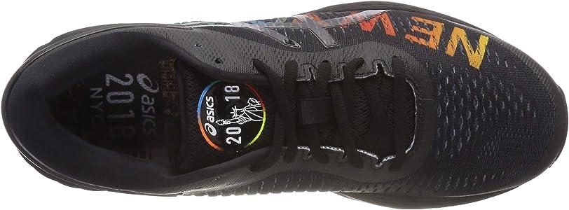 Asics Gel-Kayano 25 NYC, Zapatillas de Entrenamiento Hombre, Negro (Black/Black 001), 42.5 EU: Amazon.es: Zapatos y complementos
