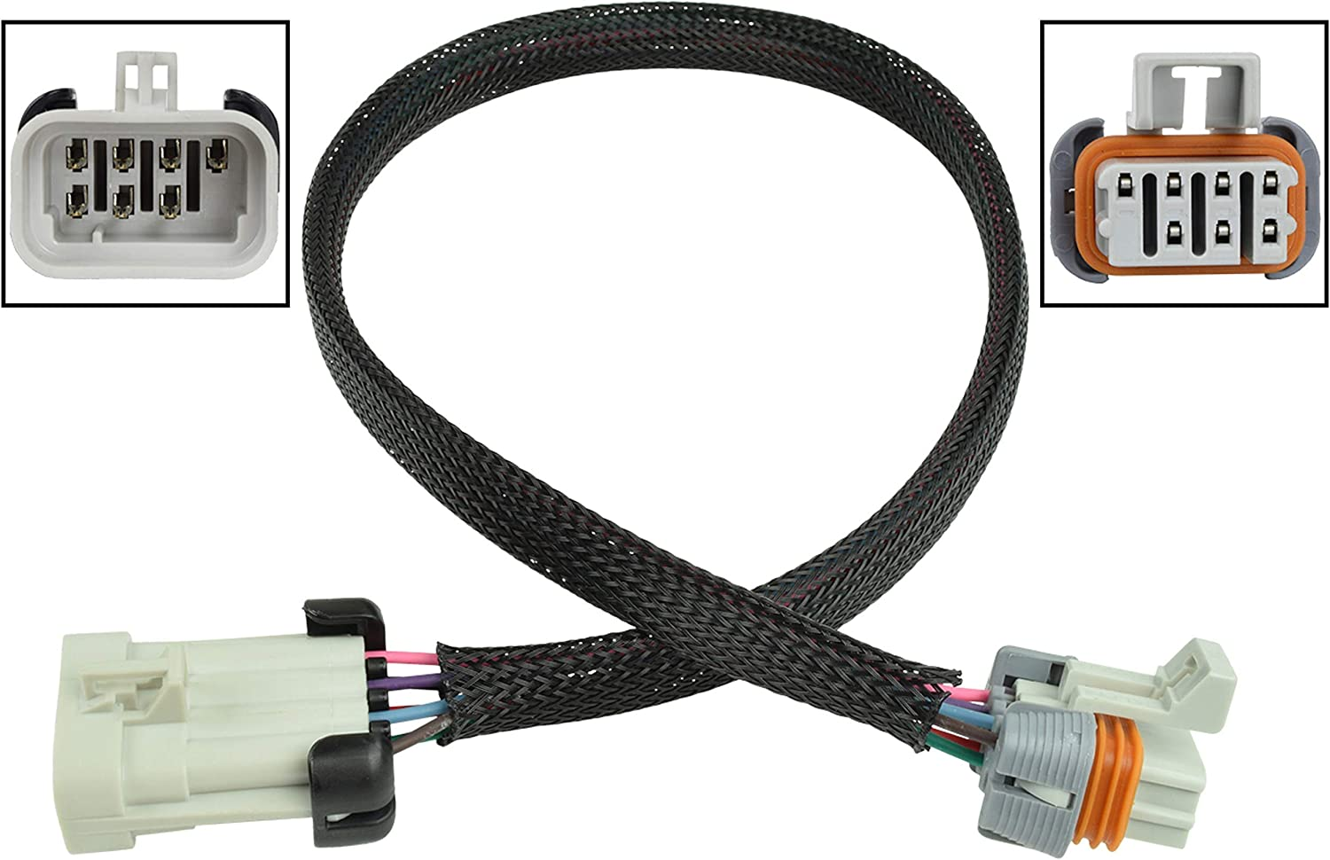 """LS1 LS6 LSX Ignition Coil Harness Set and 24/"""" Extension For Relocation Bracket"""