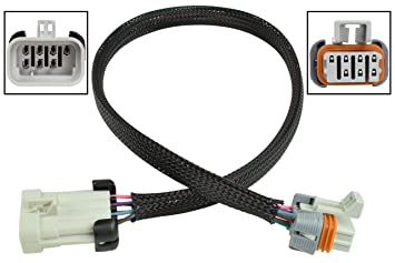 Amazon com: USA LS Coil Wire Harness 24