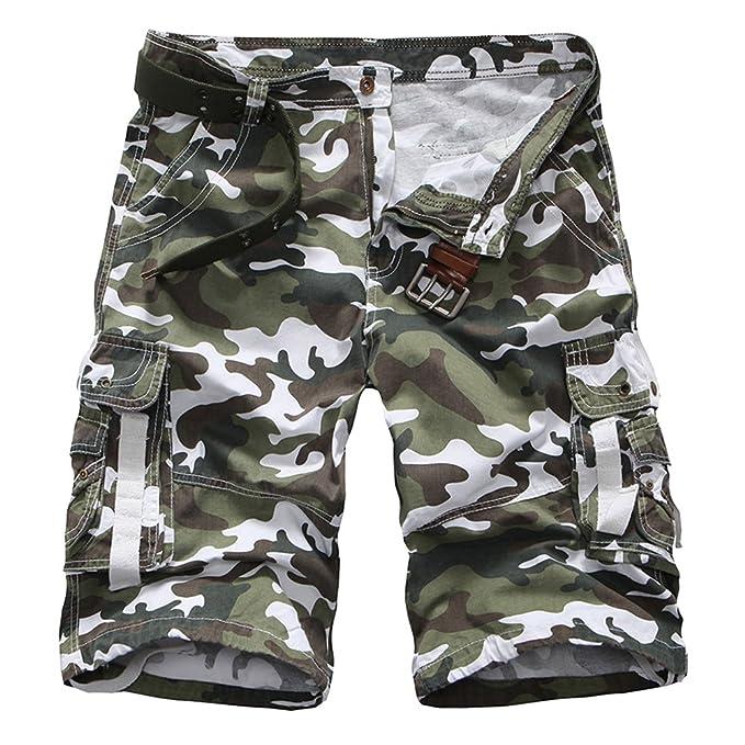 Corti Pantaloni Qitunc Uomini Pantaloncini Casuale Combattimento MqUGVLSzp