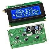 Frentaly® IIC/I2C/TWI 2004 Serial Blue Backlight LCD Module for Arduino UNO R3 MEGA2560 20 X 4, 2004