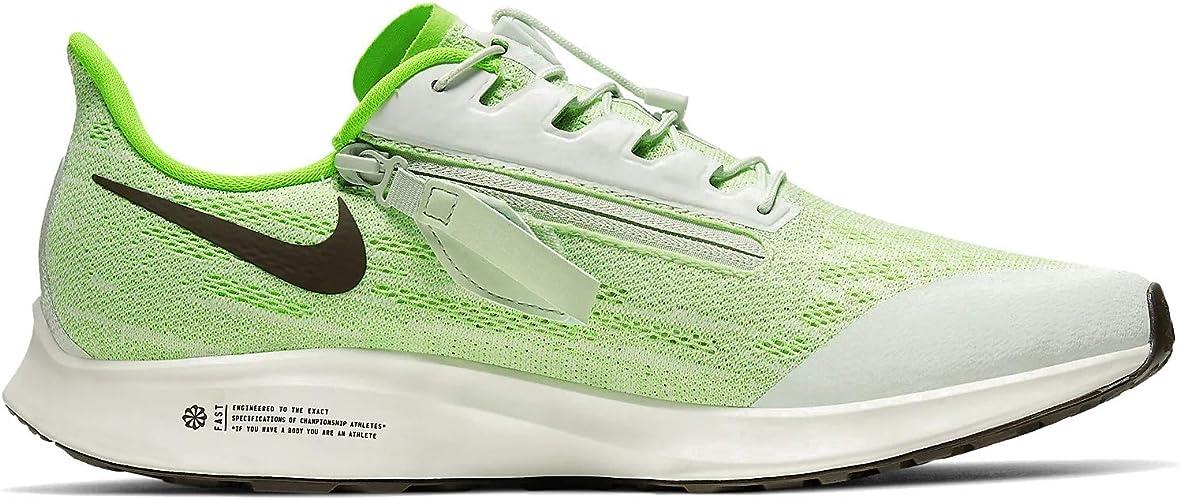 Amazon.com | Nike FlyEase Air Zoom Pegasus 36 Phantom Green ...