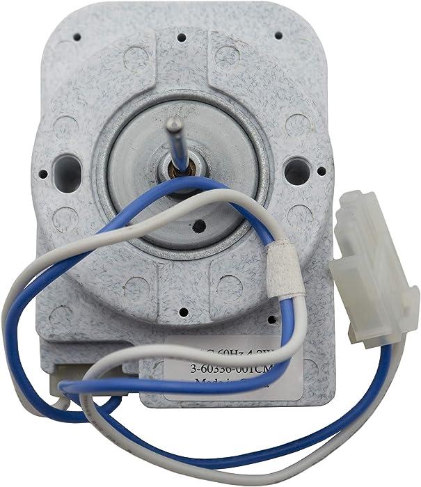 Supplying Demand 3-60336-001 Refrigerator Evaporator Fan Motor Compatible With Whirlpool
