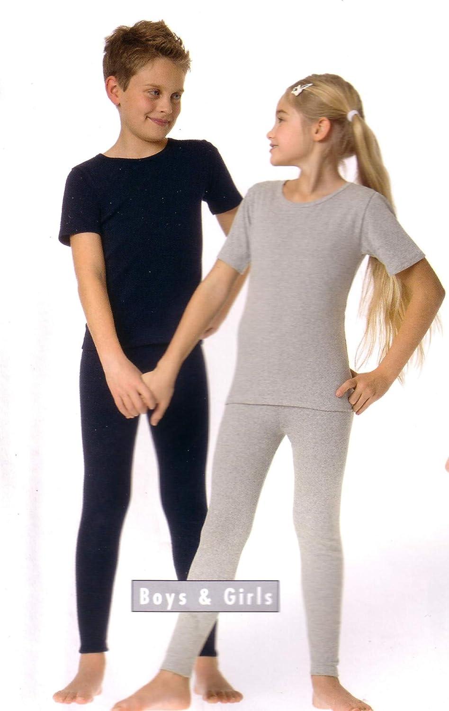 W/äscheMarkt24 410 Kinder Thermo-Legging Frottee Gr 104-188