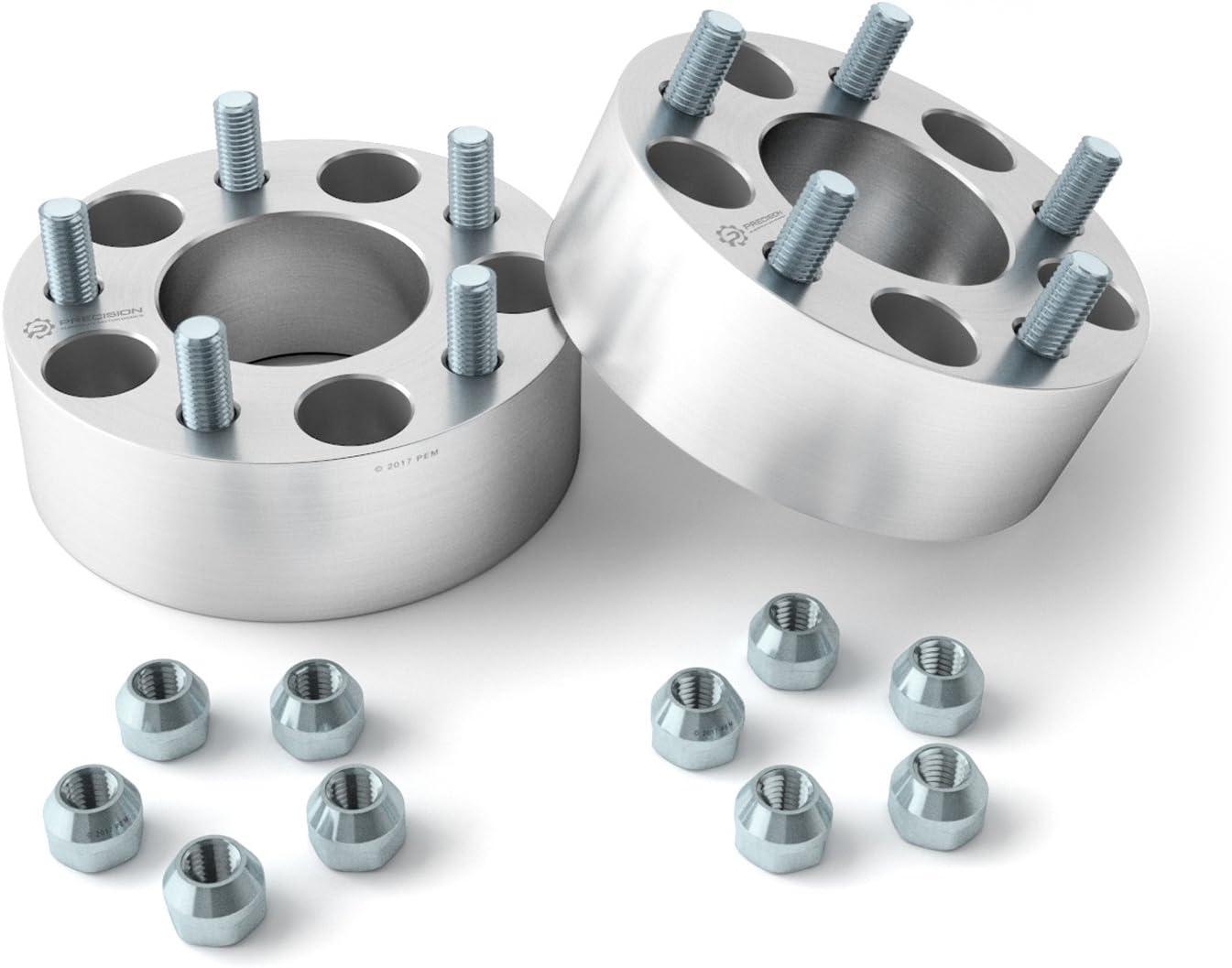 RockTrix 4pcs 1.5 inch Wheel Adapters 5x5.5 to 5x135 5x139.7 to 5x135 with 1//2x20 Studs for Dodge Ram 1500 Dakota Durango Ford F100 F150 Bronco Spacers Changes Bolt Pattern