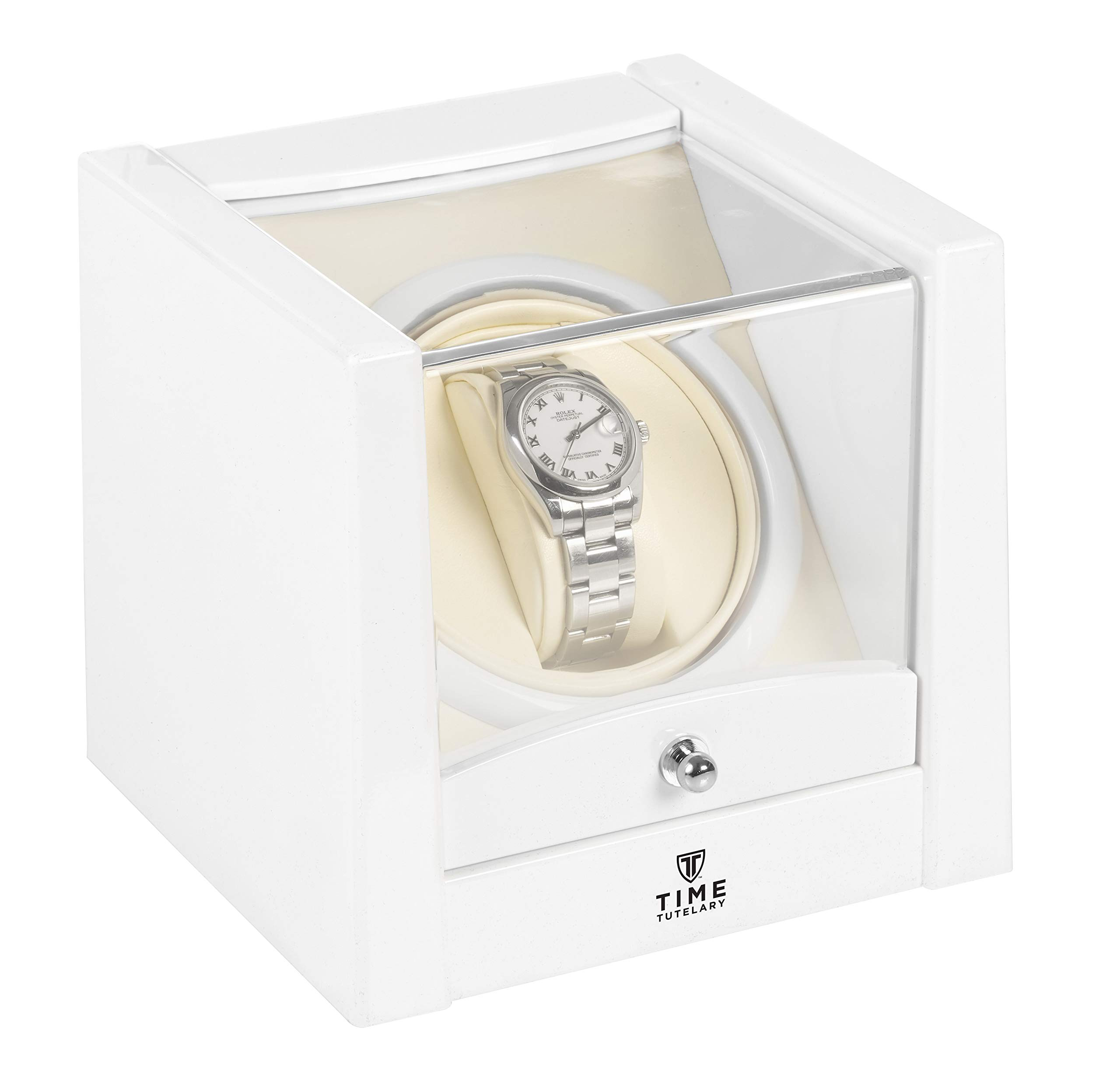 Time Tutelary KA079 Automatic Single One Watch Winder White by Time Tutelary (Image #6)