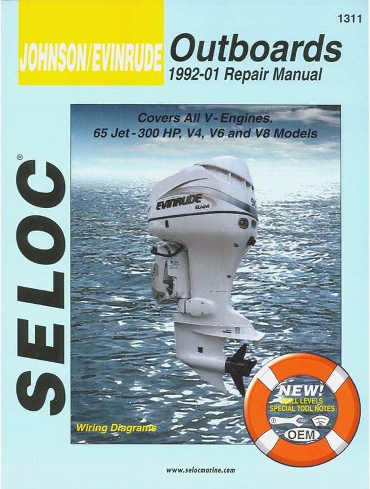 Amazon.com: Johnson, Evinrude Outboard, 1992 - 2001 Repair and Tune-Up  Manual: AutomotiveAmazon.com