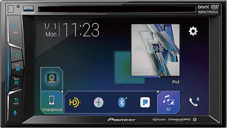 Pioneer MVH-1400NEX Digital Multimedia Video Receiver CarPlay with ...