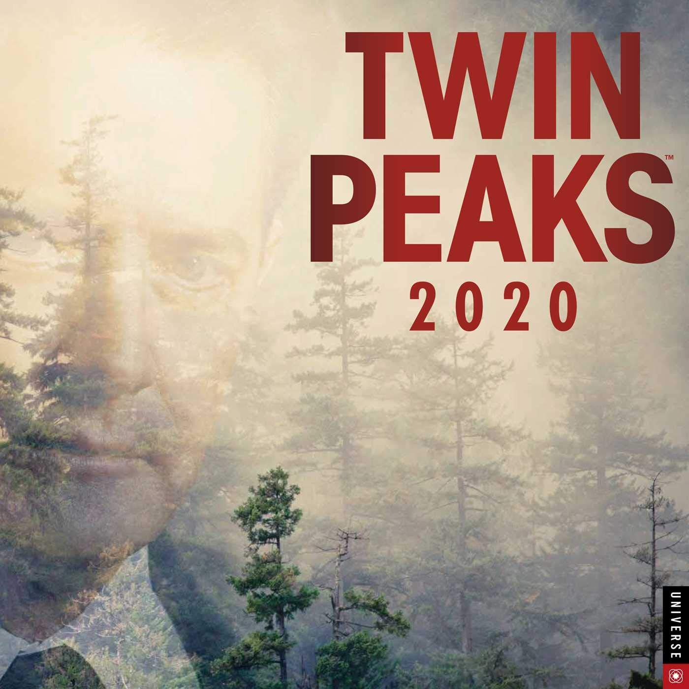 Twin Peaks 2020 Wall Calendar by Universe Publishing