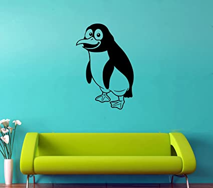 Penguin Wall Decal Ocean Animals Vinyl Sticker Animals Wall Decor ...