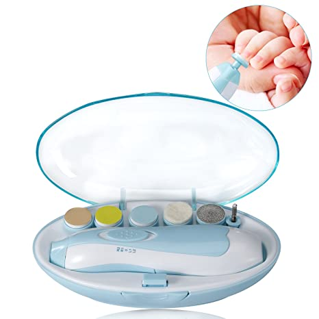 tocode bebé uñas, portátil versátil seguro Cortauñas para bebés ...