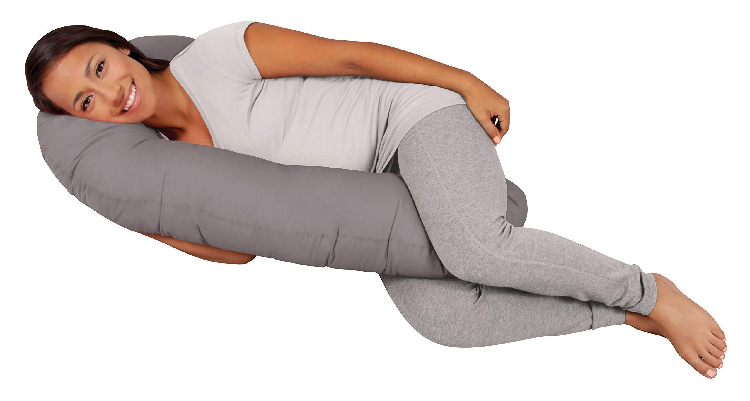 Leachco Snoogle Mini Compact Side Sleeper, Shadow Gray by Leachco